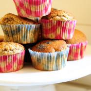 muffin alla zucca mirtilli a colazione